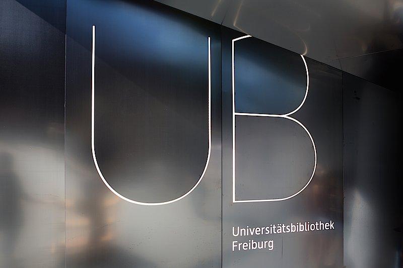Logo der UB Freiburg