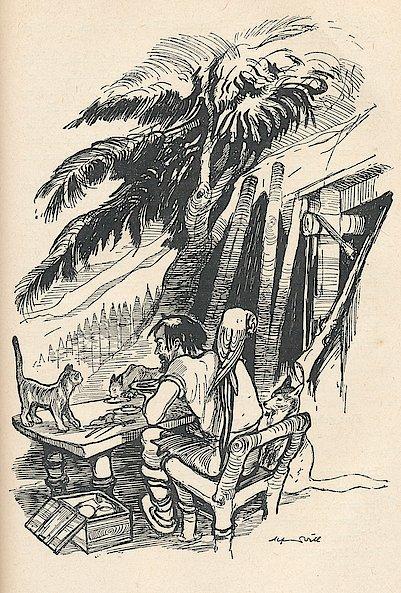 Quelle: Defoe, Daniel: Robinson Crusoe. Berlin: Kinderbuchverl., 1955