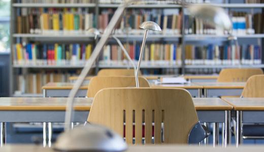 Bibliothek für Physik